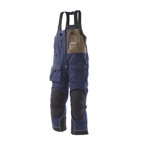 frabill 2509031 dark blue i4 ice fishing bib size xl ebay
