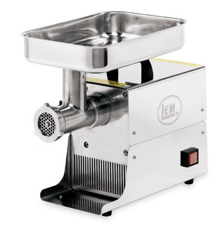LEM #5 .25HP Stainless Steel Electric Meat ...