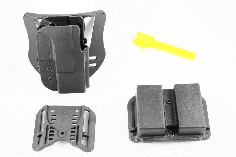 blade tech holx0076rc1921blkrh fits glock 19/23/32 combo pack