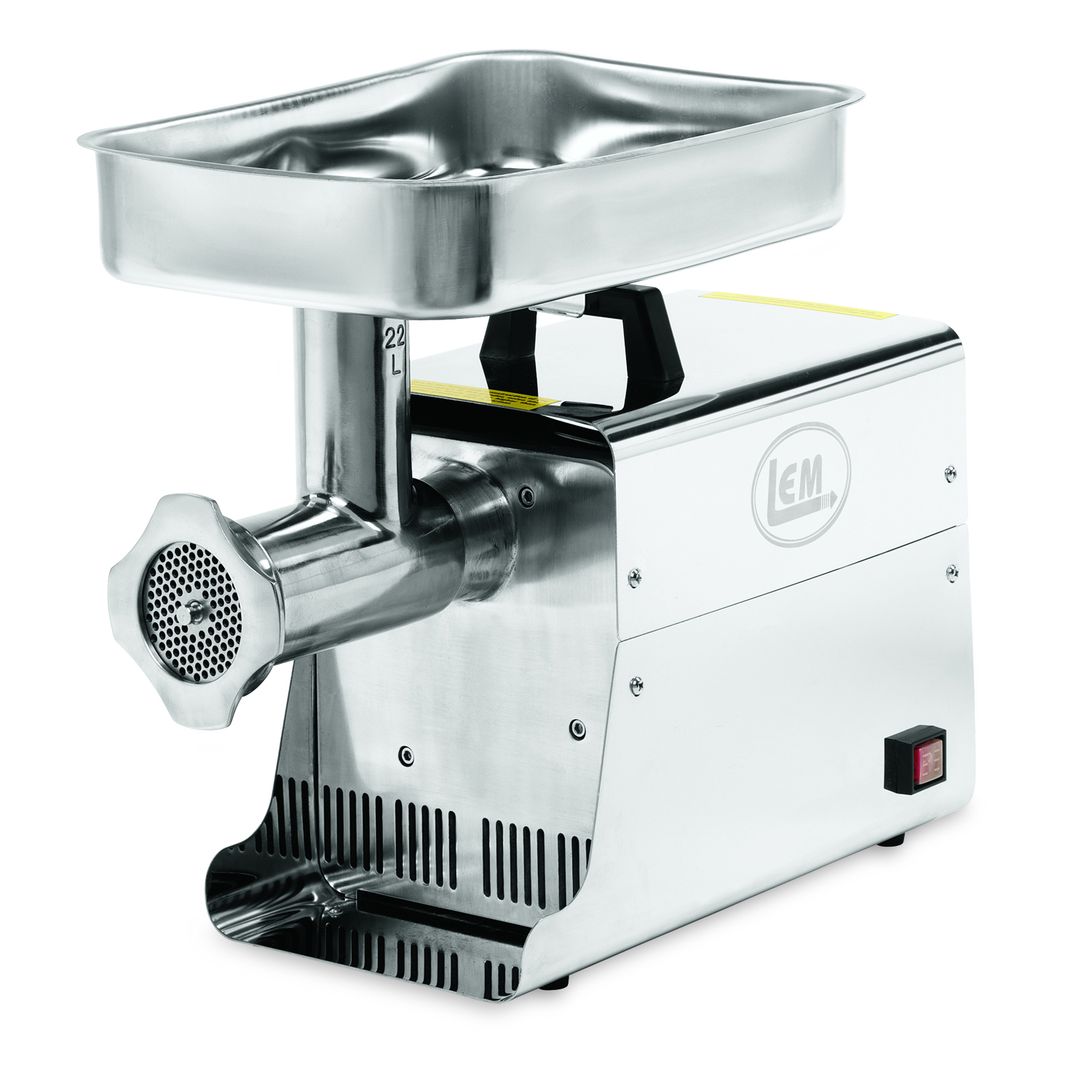 Electric Meat Grinder ~ Lem products hp stainless steel electric meat grinder