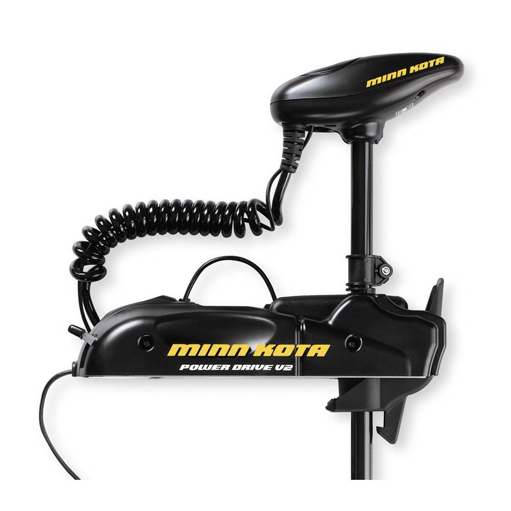 Minn kota 1358710 powerdrive v2 55pd 12v 55 lb 48 bow for Best minn kota trolling motor