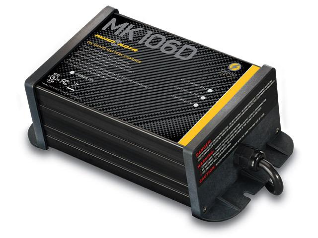 Minn Kota MK-106D Digital Linear Charger 1 Bank 6 Amp 1821065