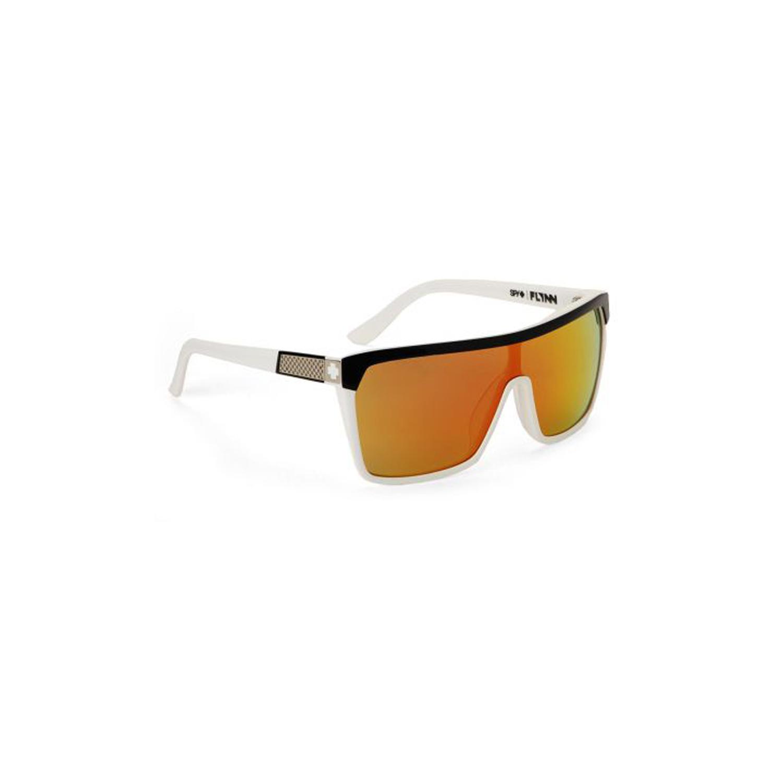 e45b250fc9 Spy Optic FYBW130 Flynn Sunglasses Black White Frame .