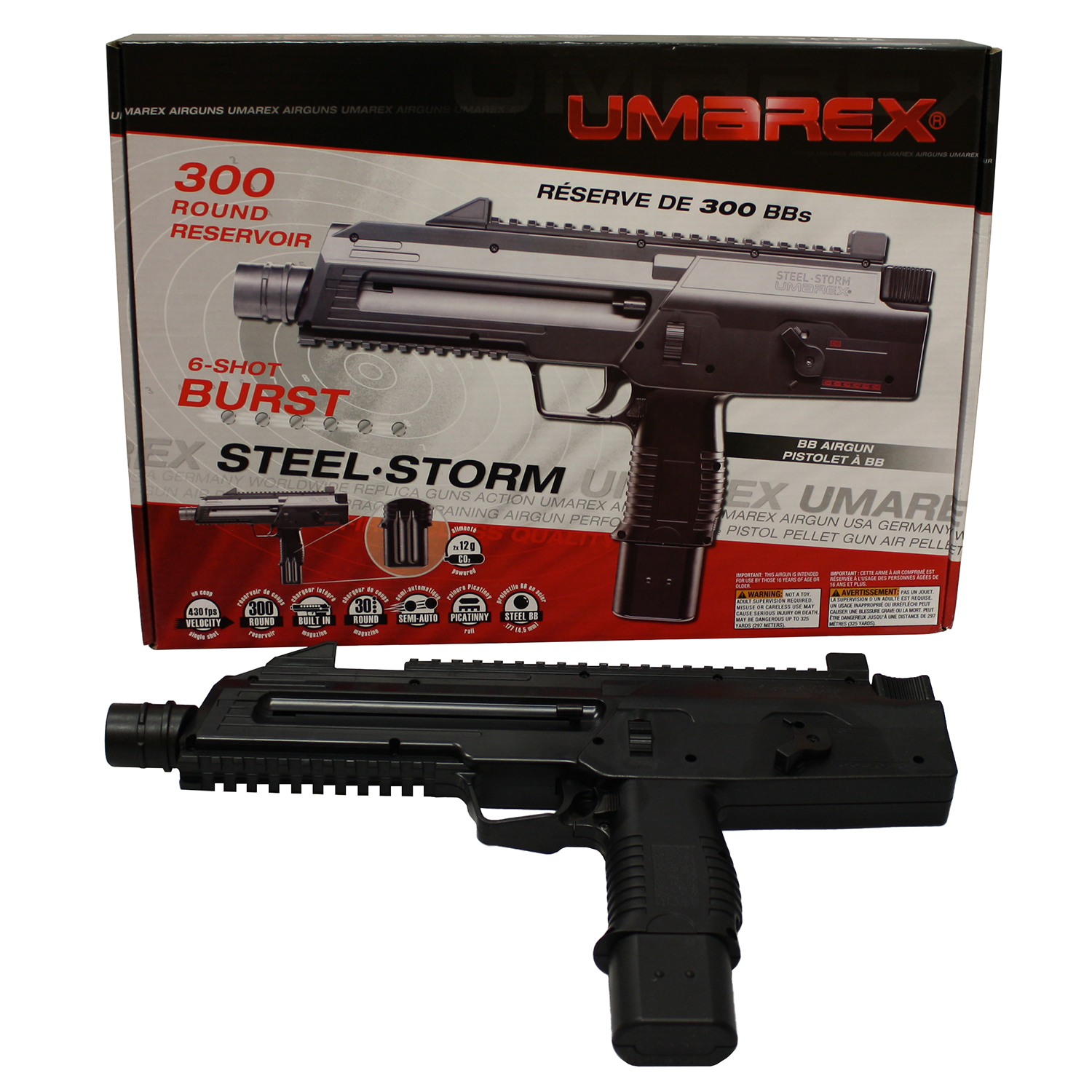 storm of steel The umarex steel storm air gun is a popular choice due to its realistic look and feel find this and other high quality bb guns at pyramydaircom today.