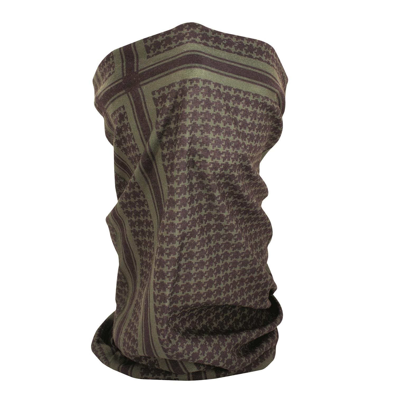 Zanheadgear ZANheadgear Fleece Lined Motley Tube Olive Houndstooth TF235