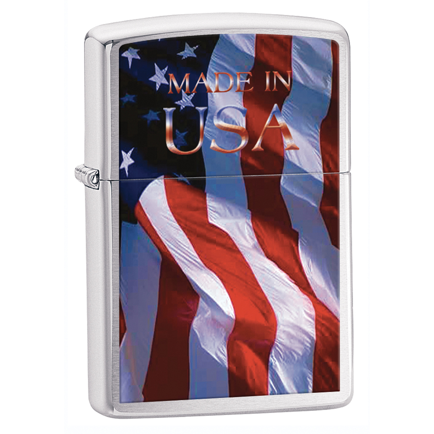 Zippo-24797-Classic-Made-in-USA-Brushed-Chrome-Windproof-Lighter
