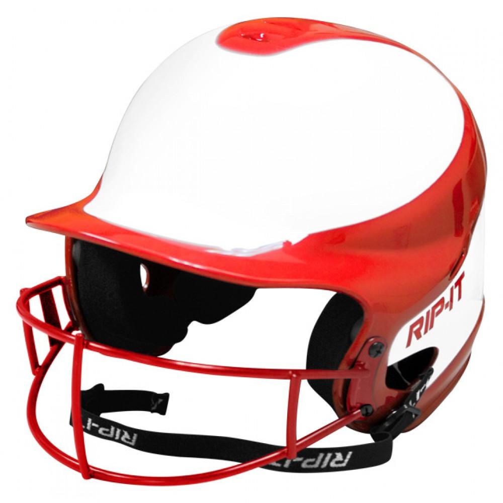 Rip-It Vision Pro Softball Batter Helmet W/ Mask | eBay