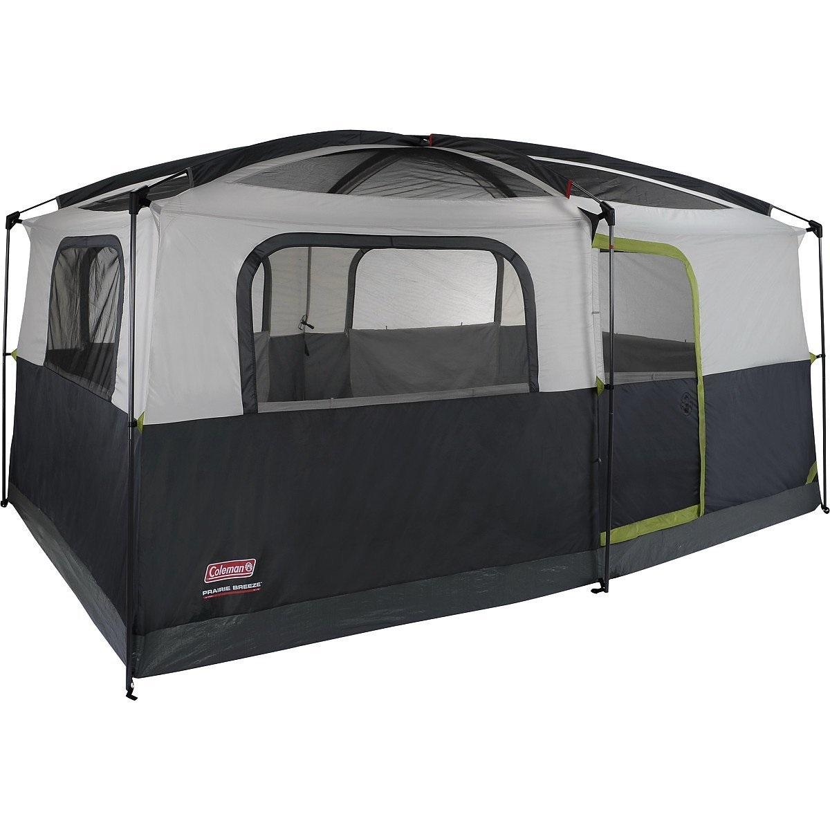 Signature Tent 14X10 Prairie Breeze Led/Fan 2000008055. Coleman Prairie Breeze 9 Person ...  sc 1 st  eBay & Signature Tent 14X10 Prairie Breeze Led/Fan 2000008055 | eBay