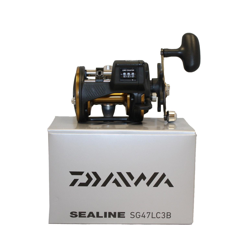 Daiwa SG47LC3B Sealine SG3B Line Counter Reel 3BB 20lb280yd 4.2 1