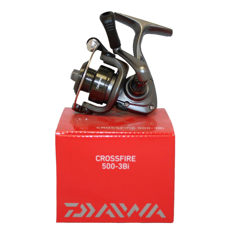 d280f9e66bf Daiwa Crossfire 500-3Bi Spin Reel 3+1BB 4lb/100yd 4.9:1 UL CF500-3BI ...
