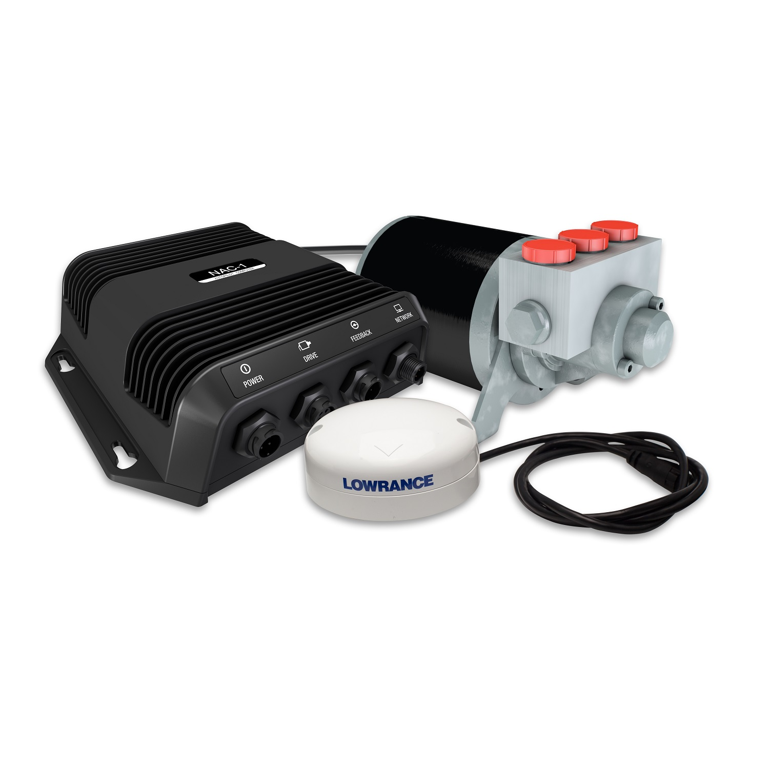 Lowrance 000-11748-001 Outboard Autopilot System for Hydraul